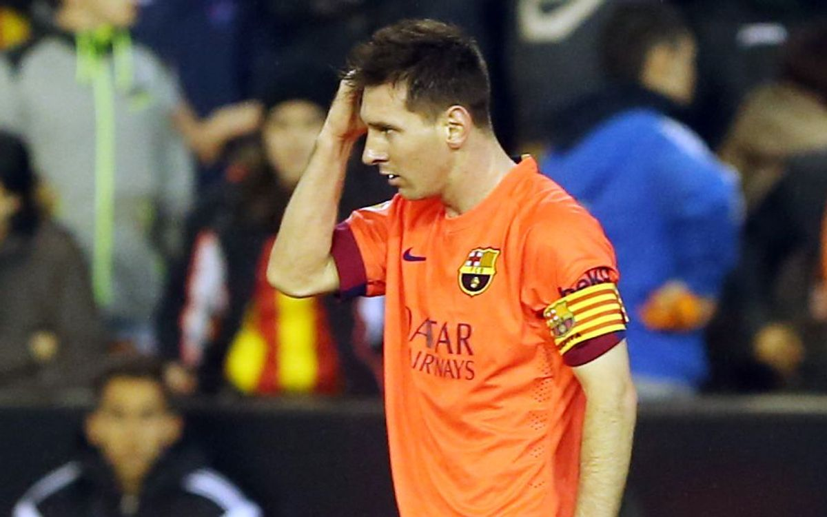 FC Barcelona to appeal Leo Messi's yellow card