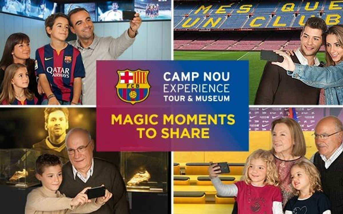 Enjoy the Camp Nou Experience this Christmas