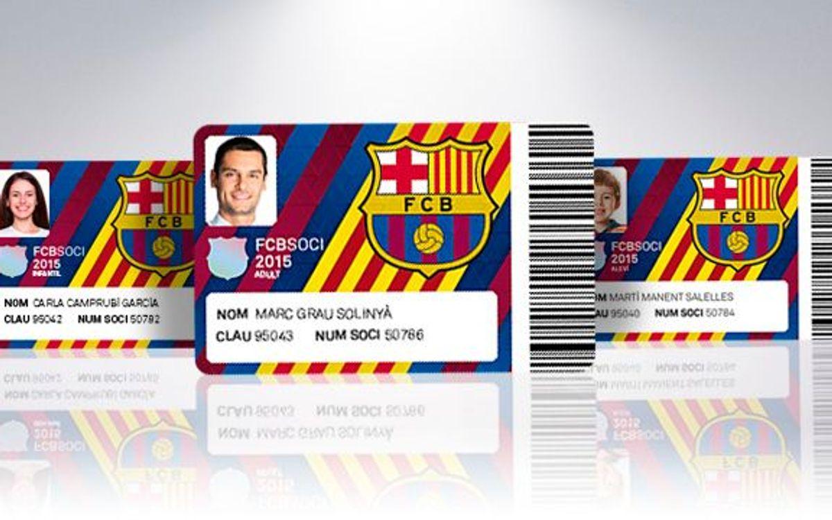 New design for 2015 membership card