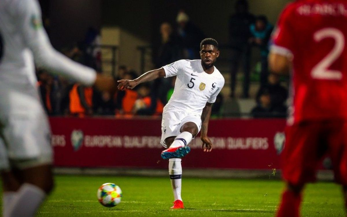 Umtiti added to France squad