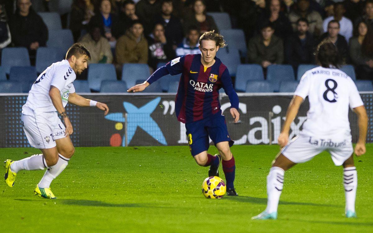 Barça B victorious at Girona, 1-0