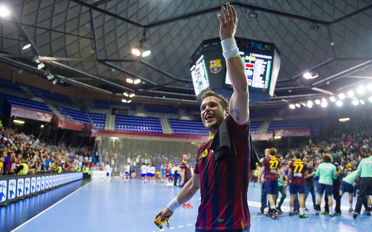 La Copa Asobal tanca l'any per al Barça d'handbol