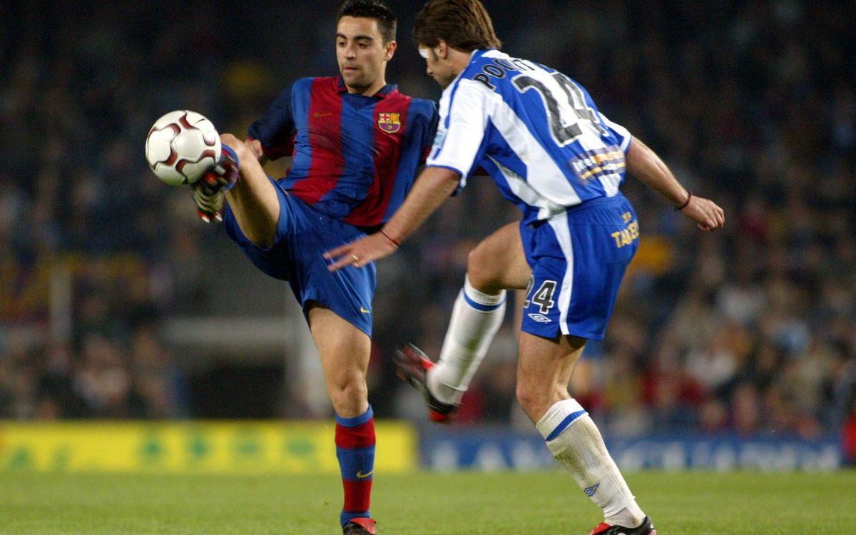 Xavi, 29 League derbies