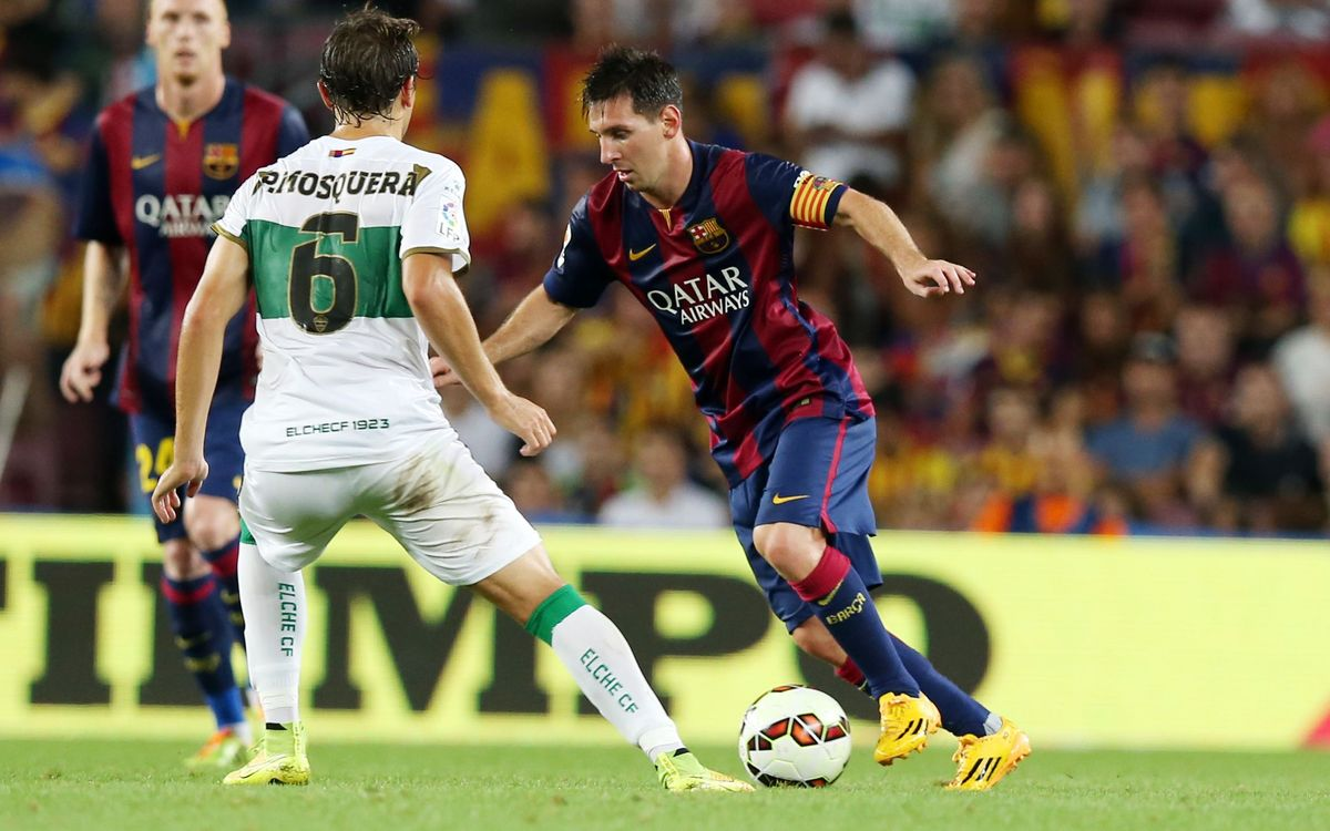 FC Barcelona to face Elche in Spanish Cup last 16