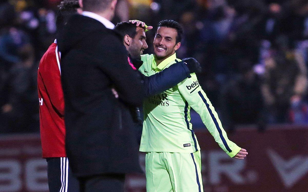 Cup debuts: Pedro territory