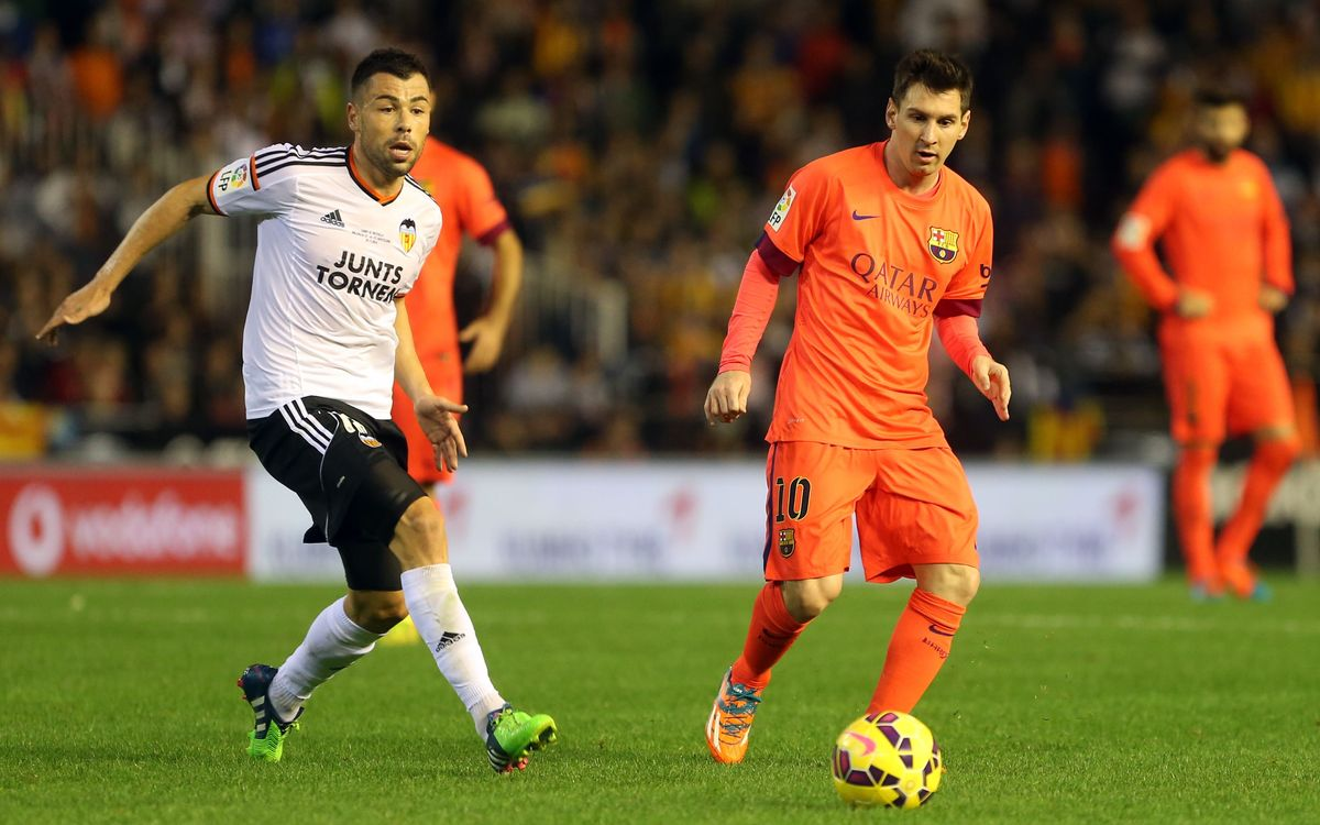 The Club will appeal against Messi's yellow card against Valencia