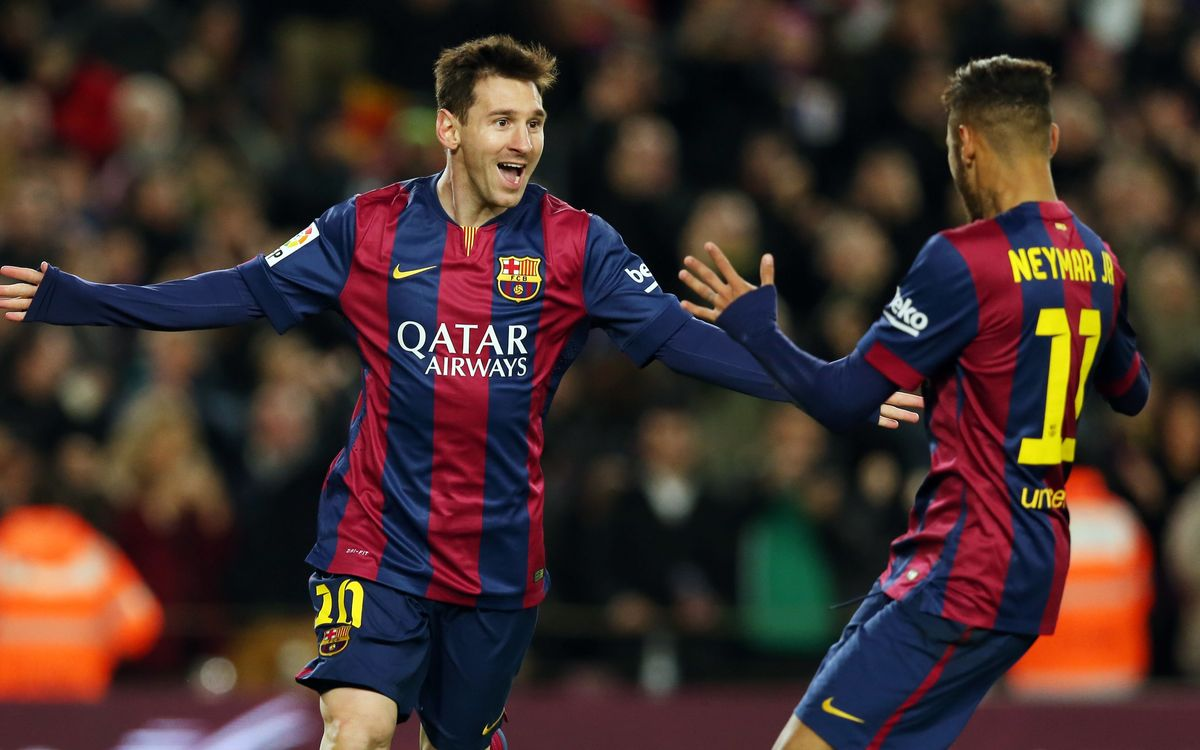 Messi and Neymar named in L'Équipe Ideal XI