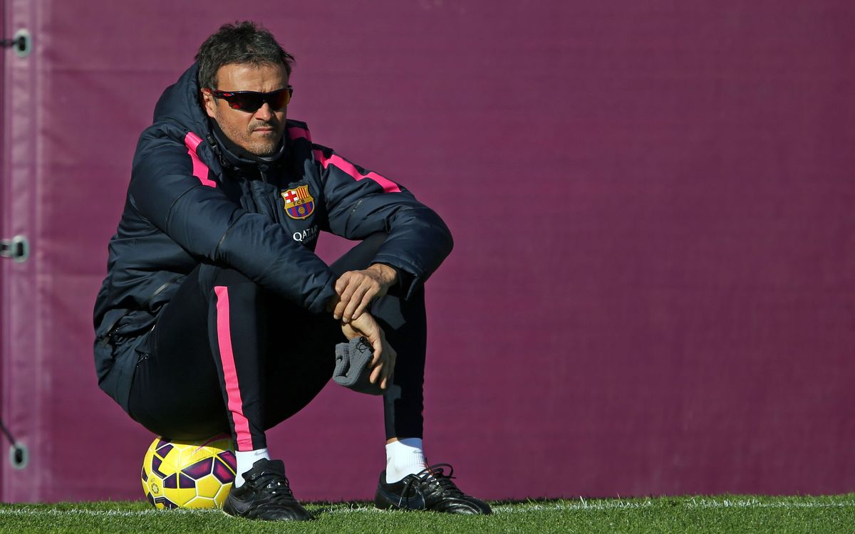 Luis Enrique looking forward to special match