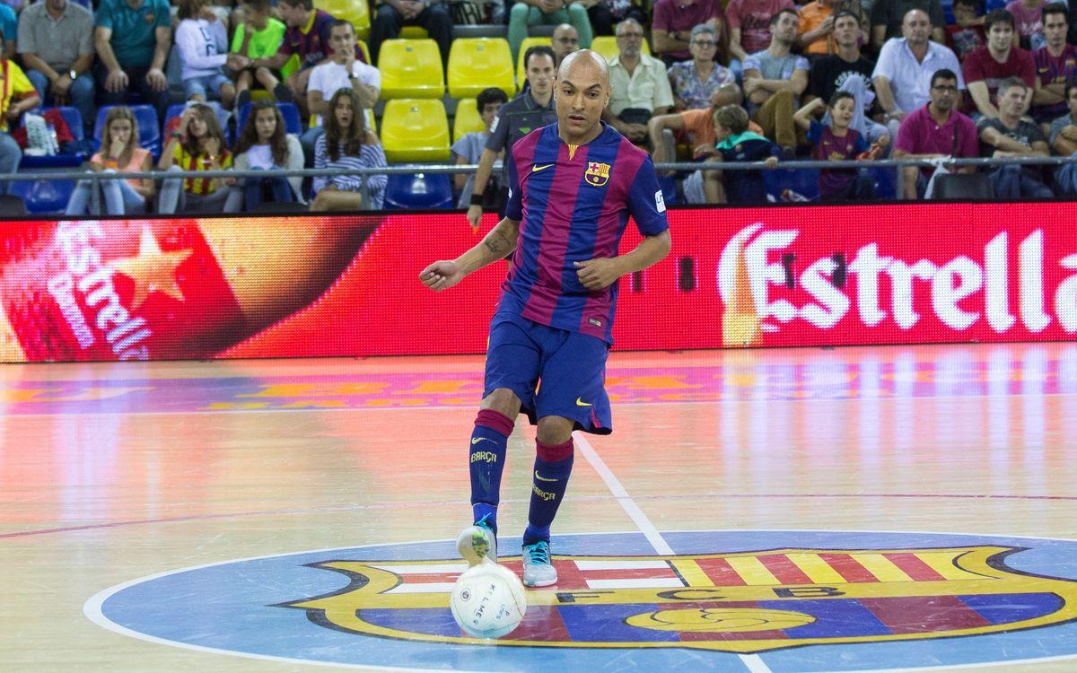 El tanca brasiler Ari Santos, sancionat amb quatre partits