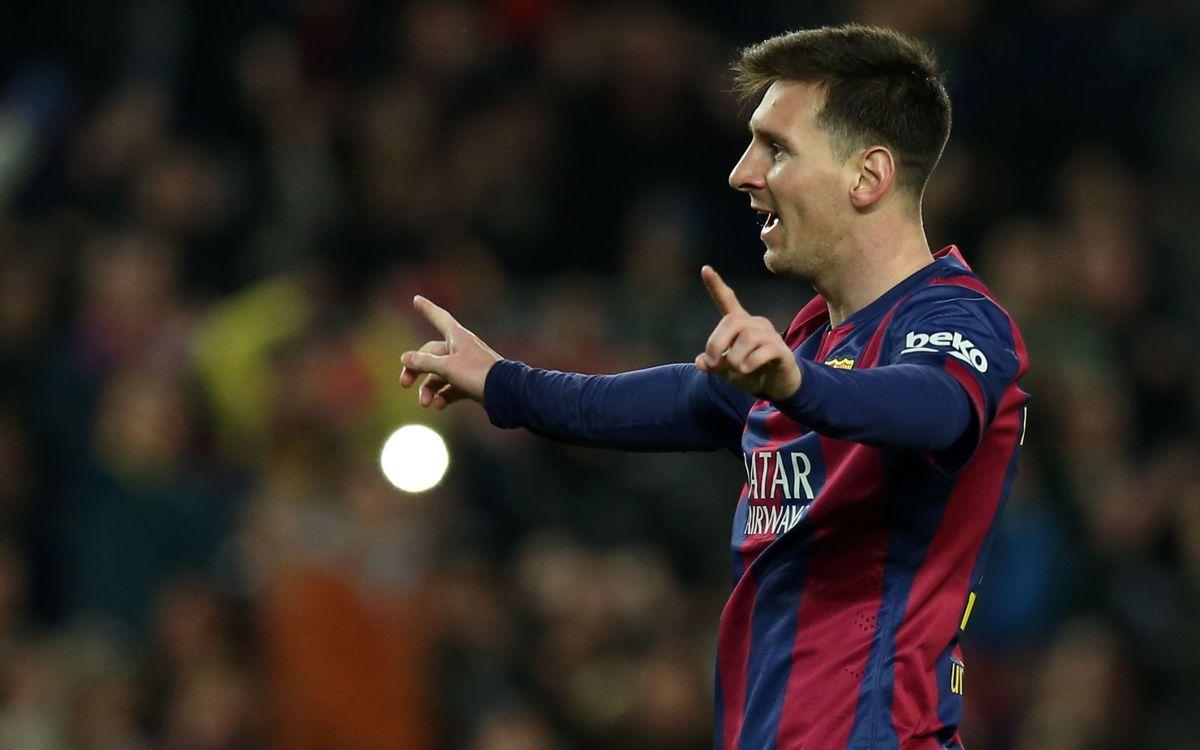 21 goals for FC Barcelona at the Camp Nou in December