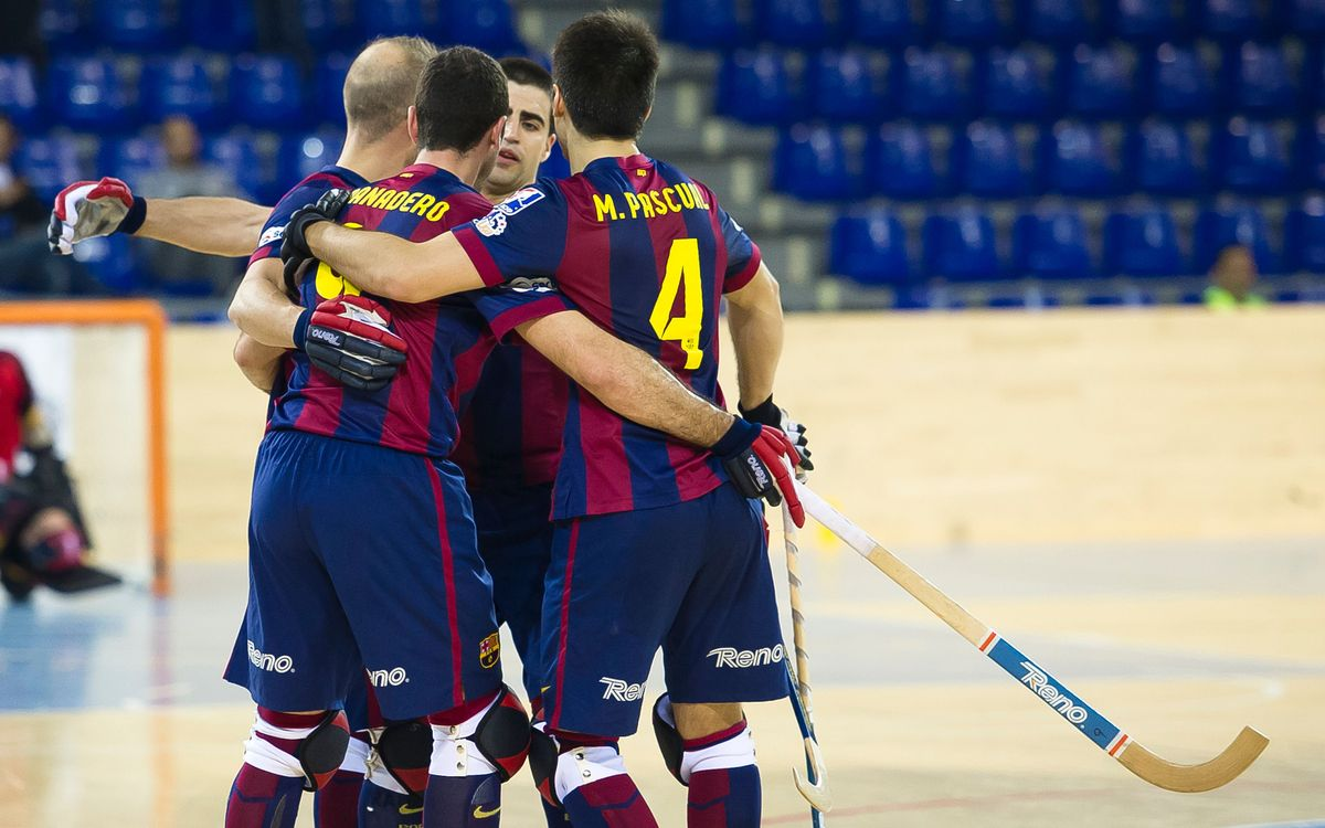 FC Barcelona beat Noia 7-3