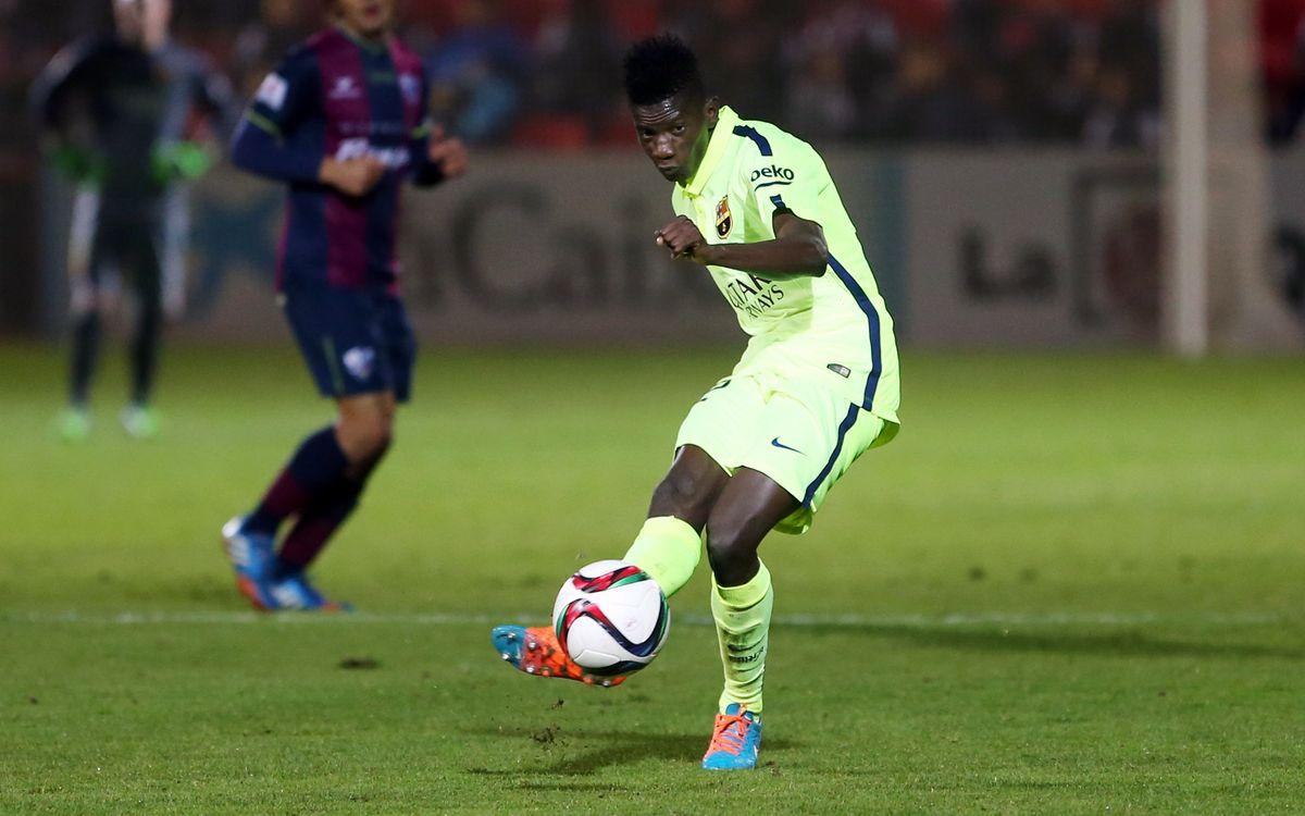 Edgar Ié thrilled to make first team debut