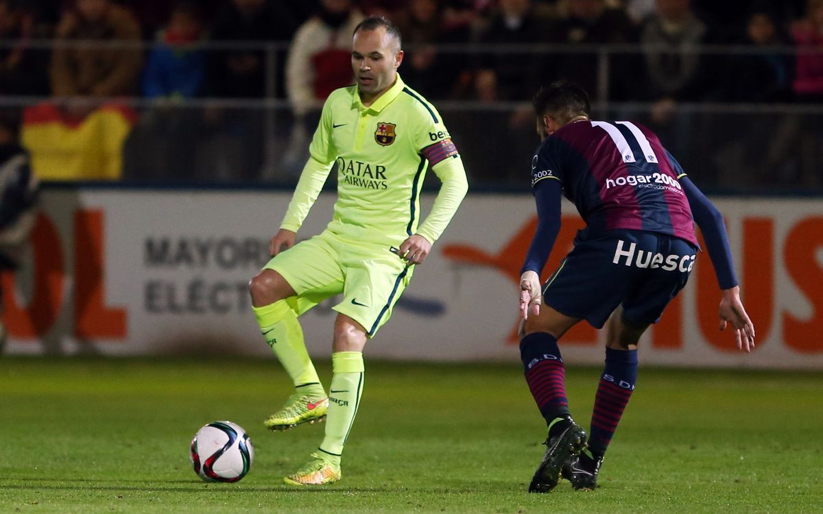 It all feels good for Iniesta