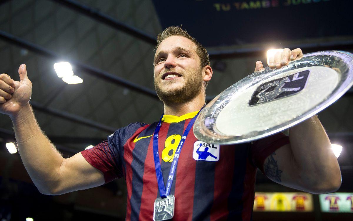 Records de la darrera Copa Asobal per al Barça d'handbol