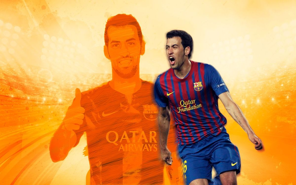 All the goals Busquets has scored in La LIga