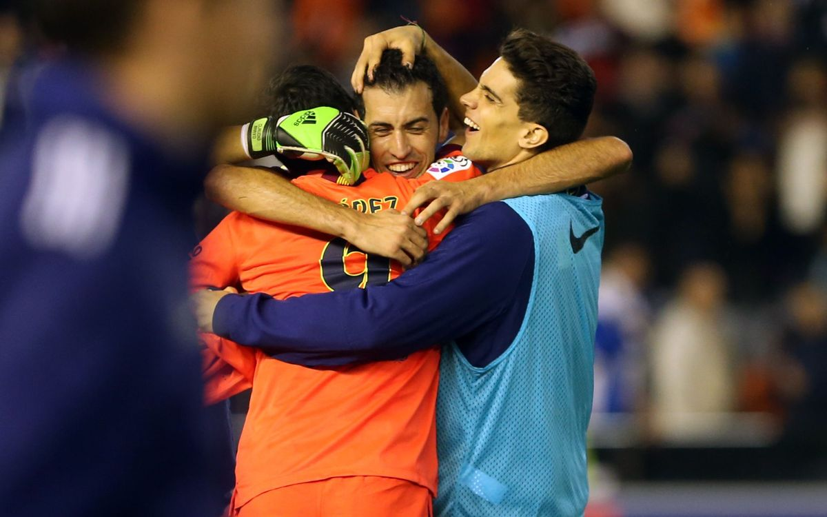 Sergio Busquets FC Barcelona goalscorer number eleven