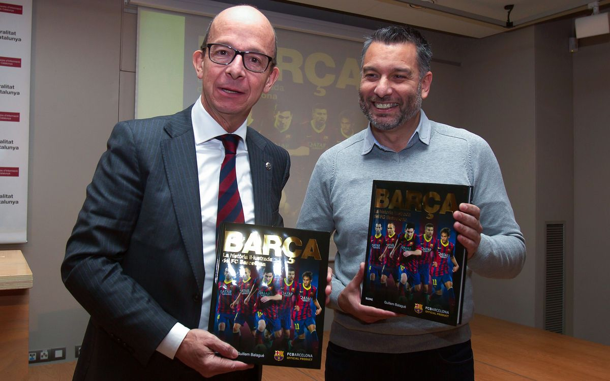 Presentades les versions catalana i castellana de 'The illustrated history of FC Barcelona'