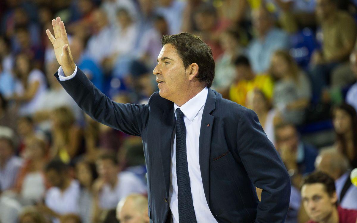 """Xavi Pascual: """"El Palau ens ha ajudat a tenir forces"""""""