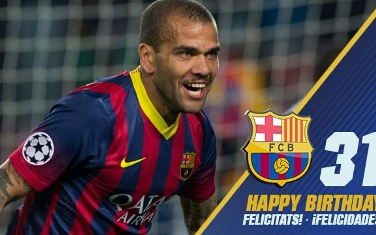 Happy Birthday Dani Alves!