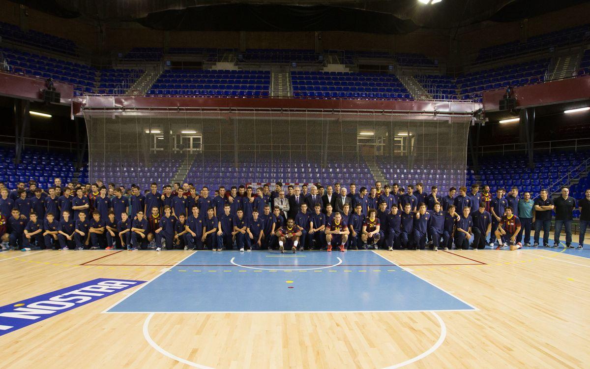 El FC Barcelona, dominador de l'handbol estatal