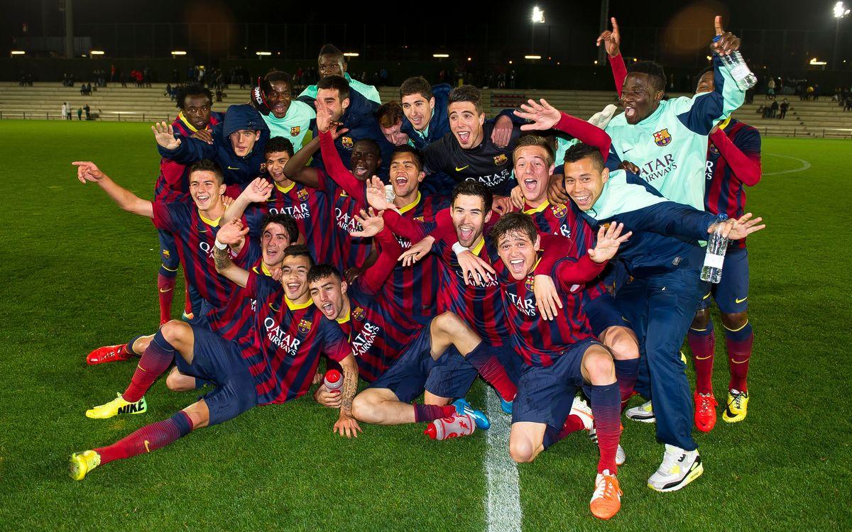 Juvenil A – Damm: Champions! (3-1)