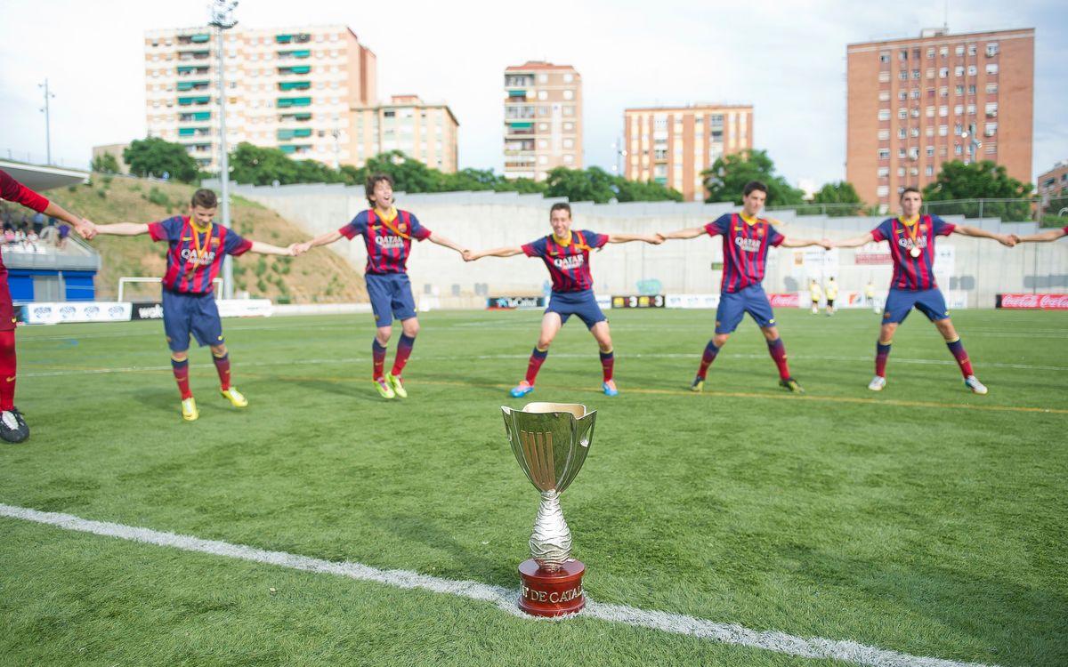 Los 19 títulos del fútbol formativo azulgrana