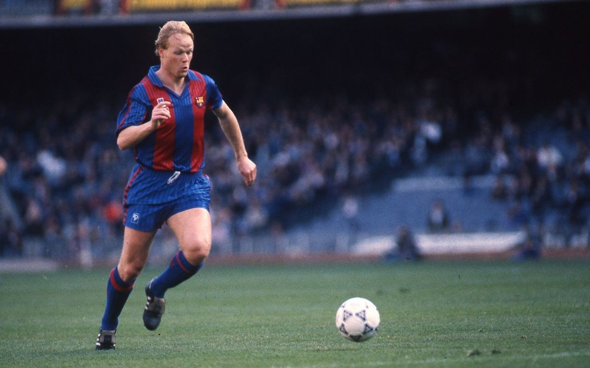 25 years since Ronald Koeman's debut for FC Barcelona