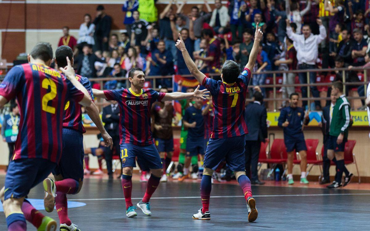 Dinamo Moscow – FC Barcelona Alusport: They reach the heavens! (2-5)