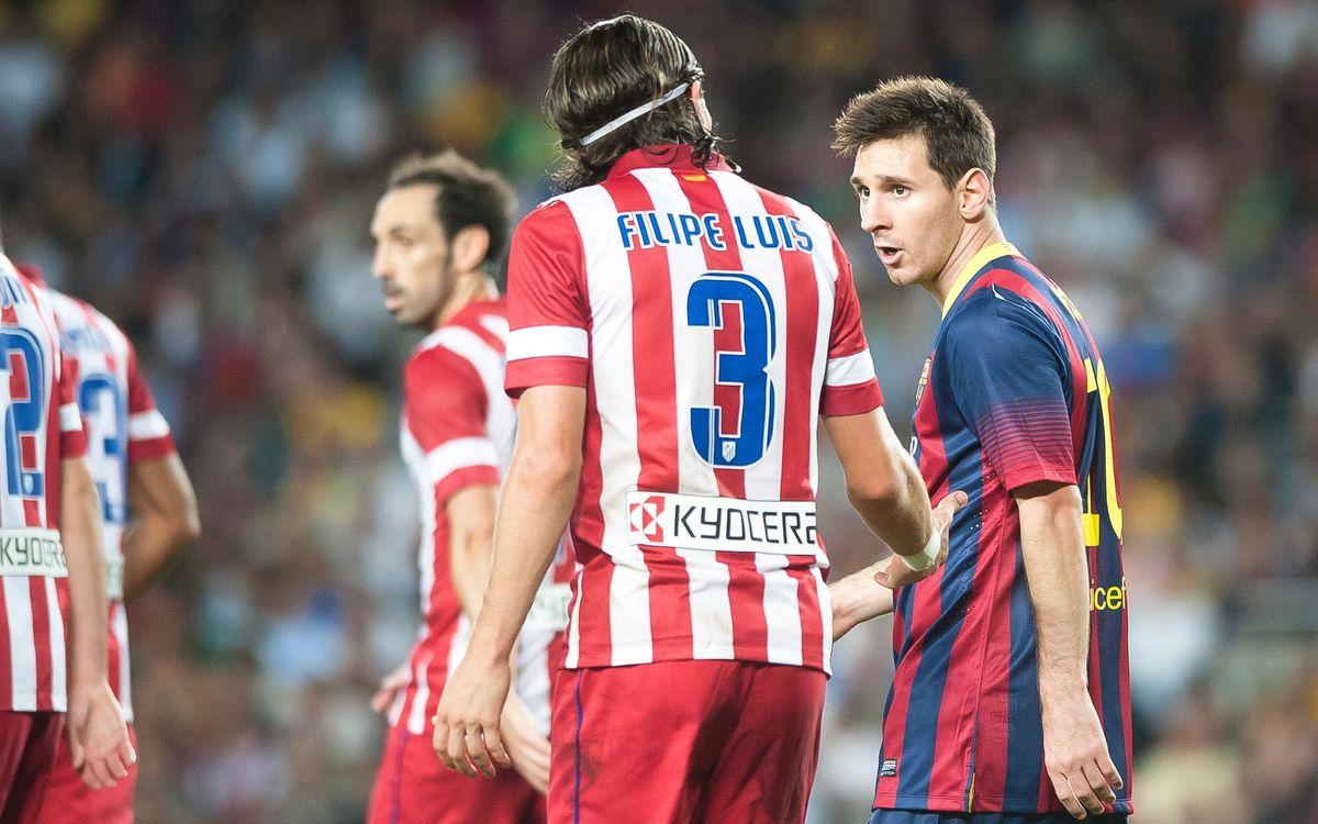 FC Barcelona - Atlético Madrid: Maximum intensity
