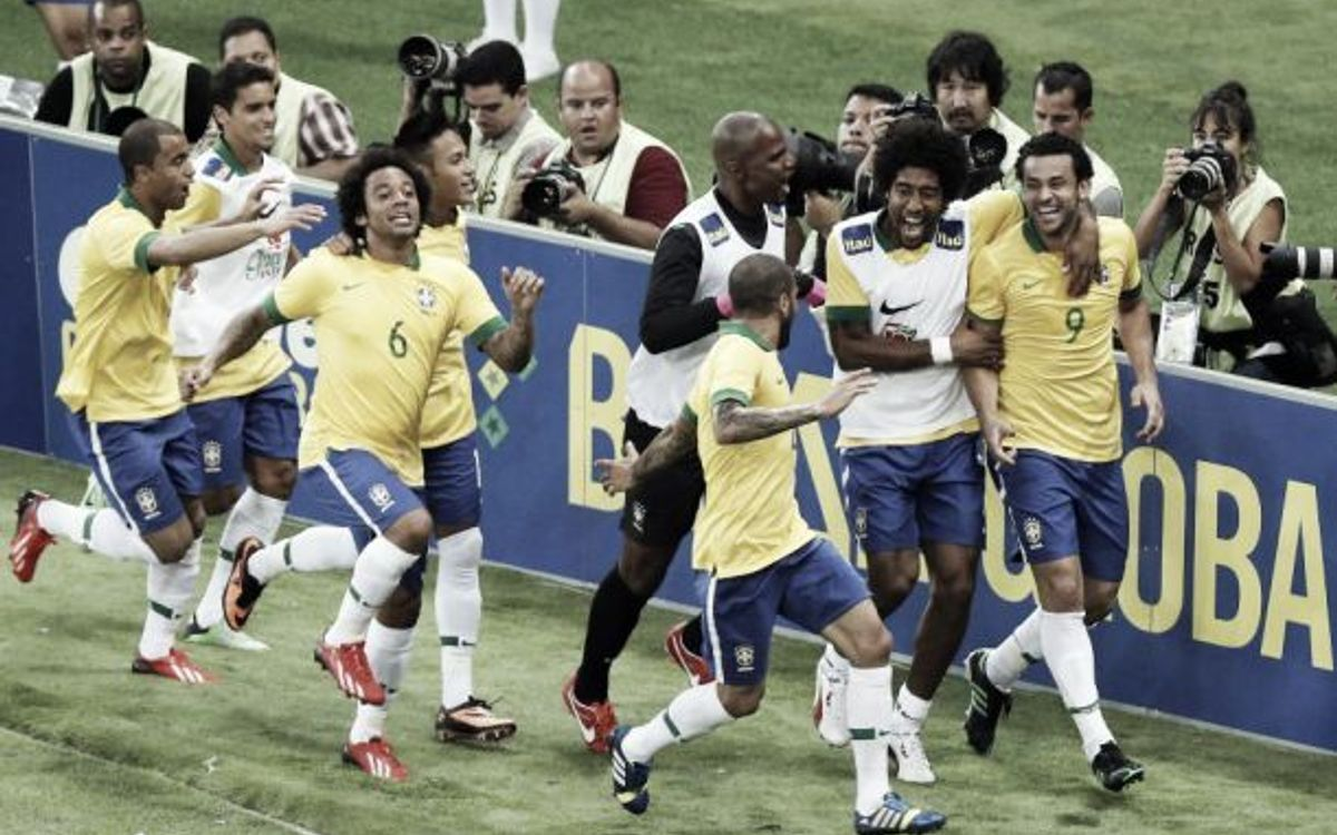 Brazil claim victory on the eve of the World Cup (1-0)