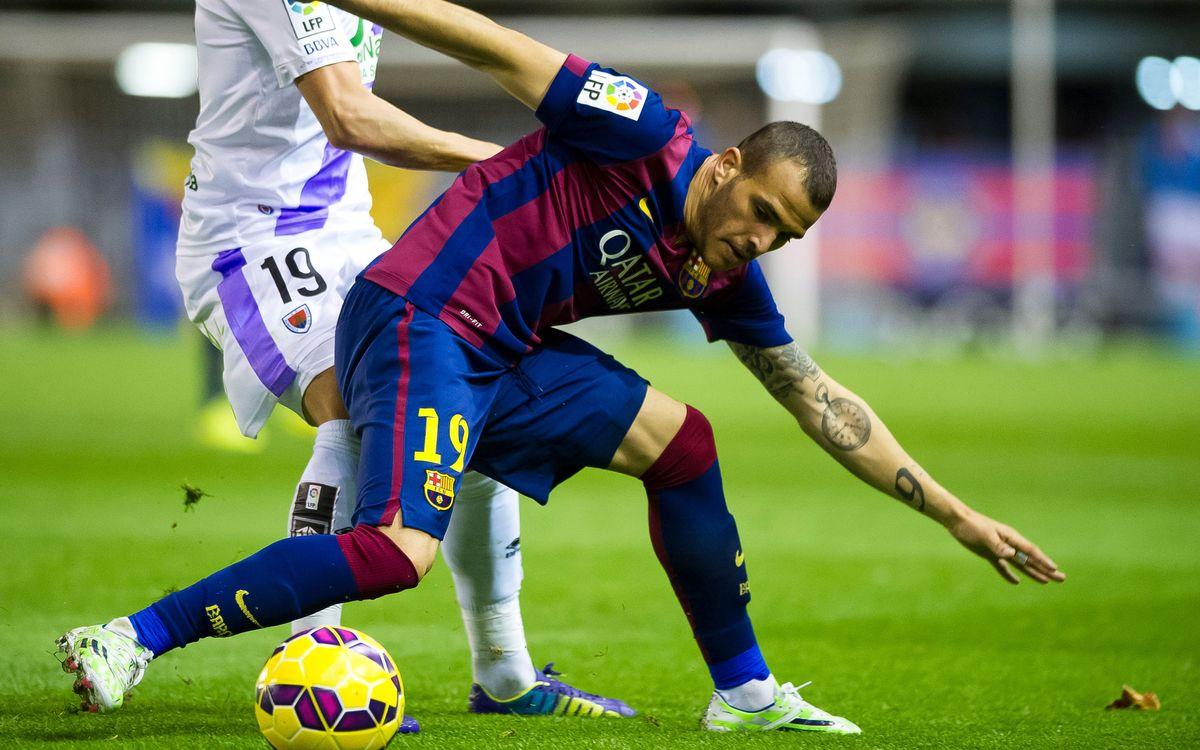 FC Barcelona v Numancia: Sandro earns a draw (1-1)