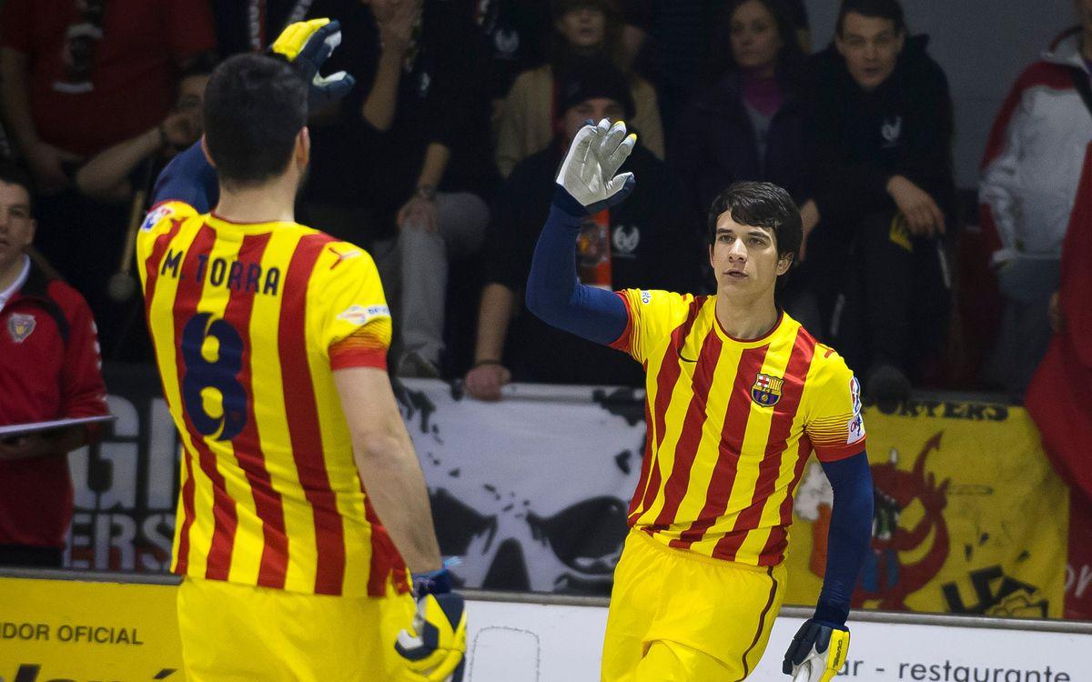 El Moritz Vendrell – Barça (2-9), en dos minuts