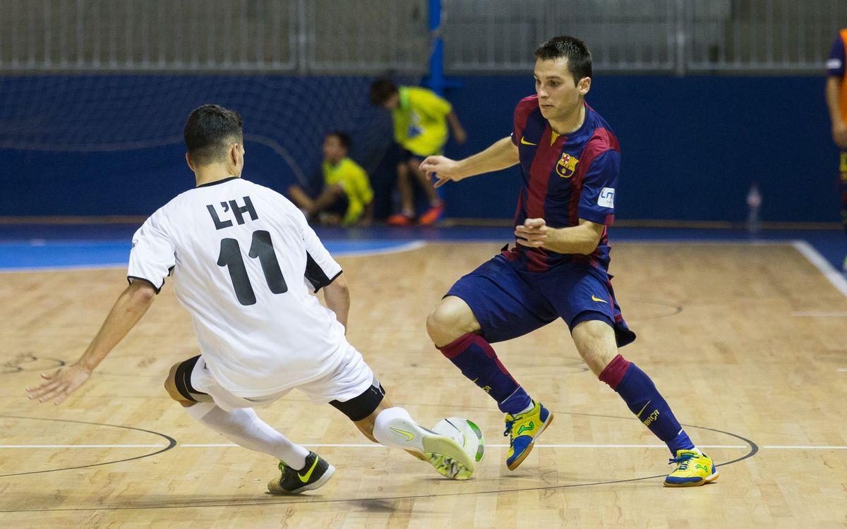 Marc Carmona no es refia del Palma Futsal
