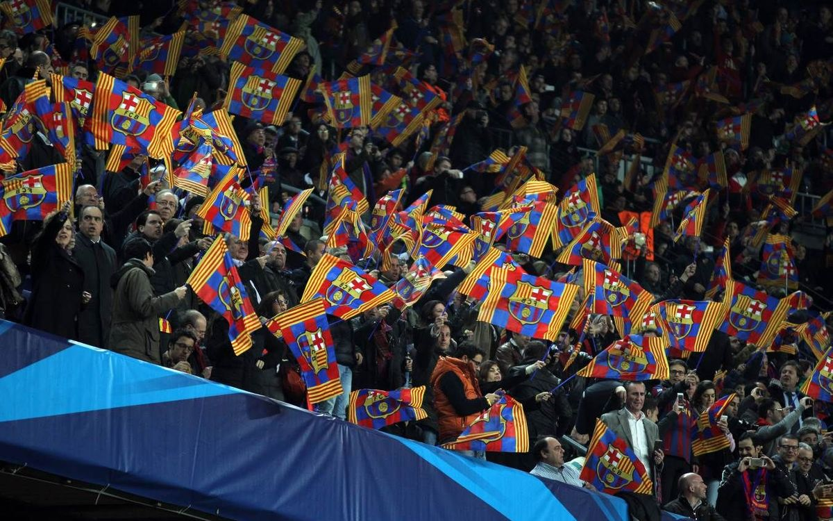Camp Nou Champions League tickets on sale from September 2