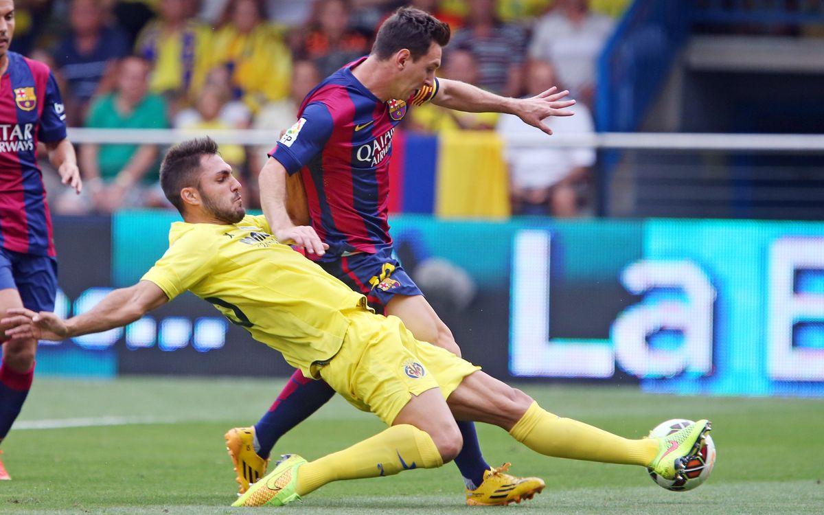 Villarreal v FC Barcelona 0-1: Sandro gives Barça the points at El Madrigal