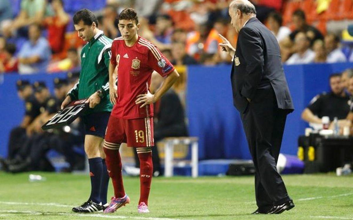 Munir debuts, Sergio and Pedro score