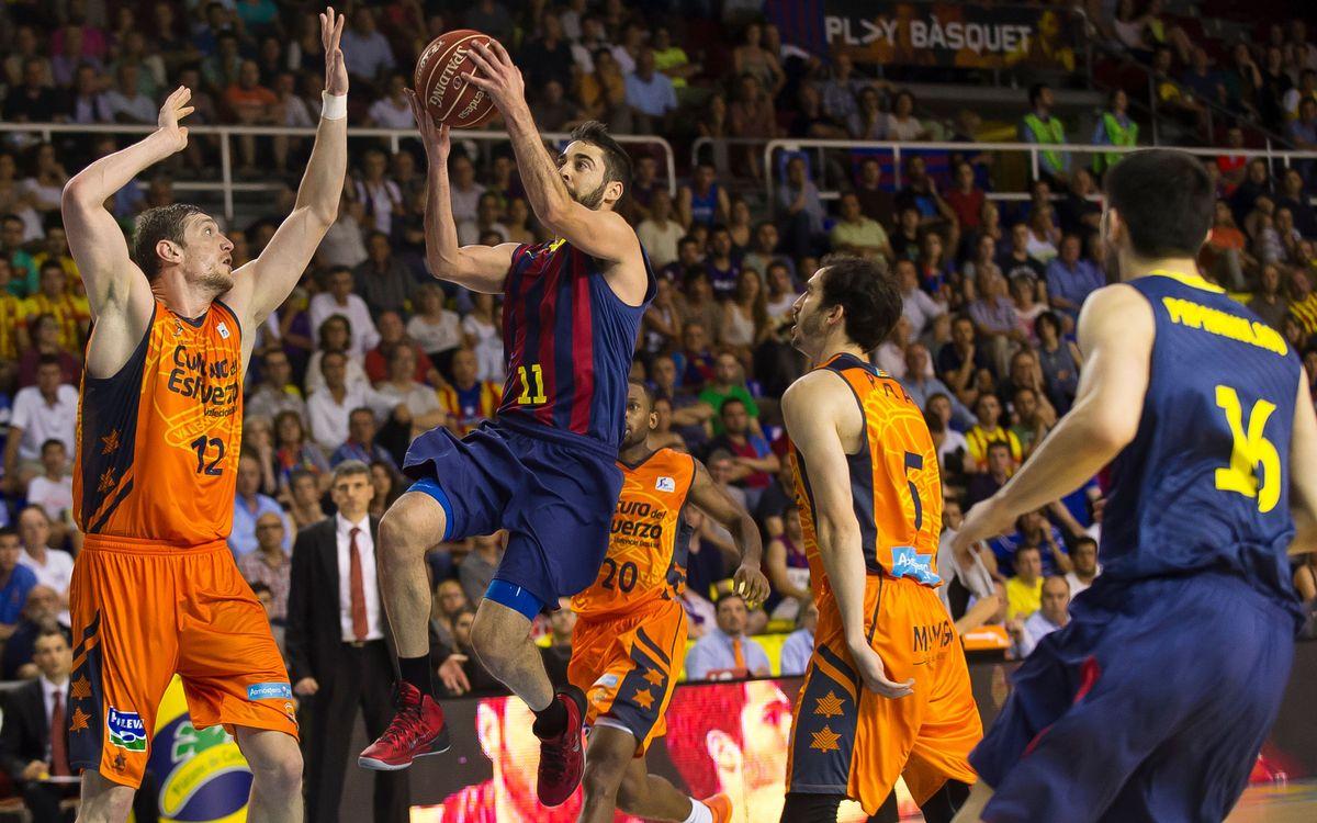 FC Barcelona-Valencia Basket: Game five forced (63-81)