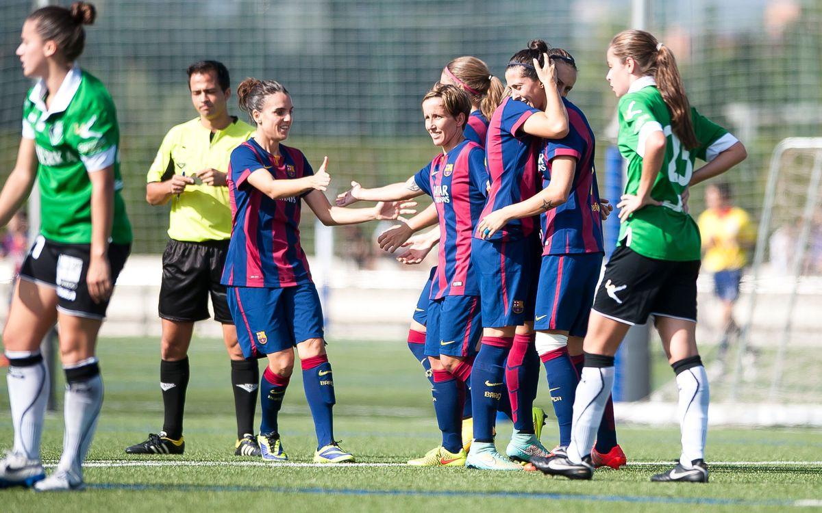 FC Barcelona women roll over Oviedo 5-1