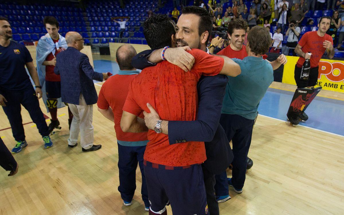 """Ricard Muñoz: """"És un final que tots hauríem somniat"""""""