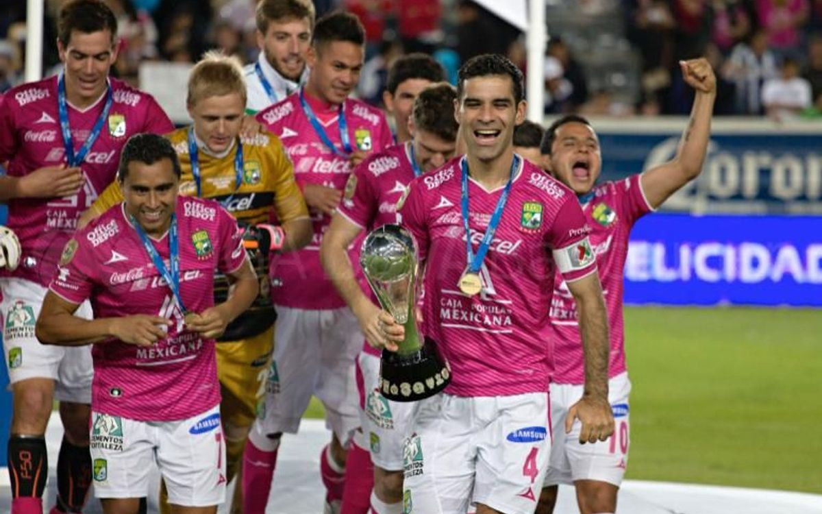 Club León Guanajuato, back-to-back Mexican champions for the Joan Gamper Trophy