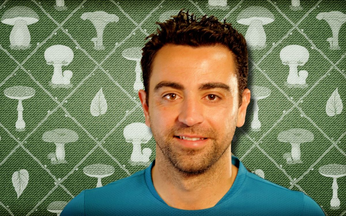 Xavi, the mushroom collector