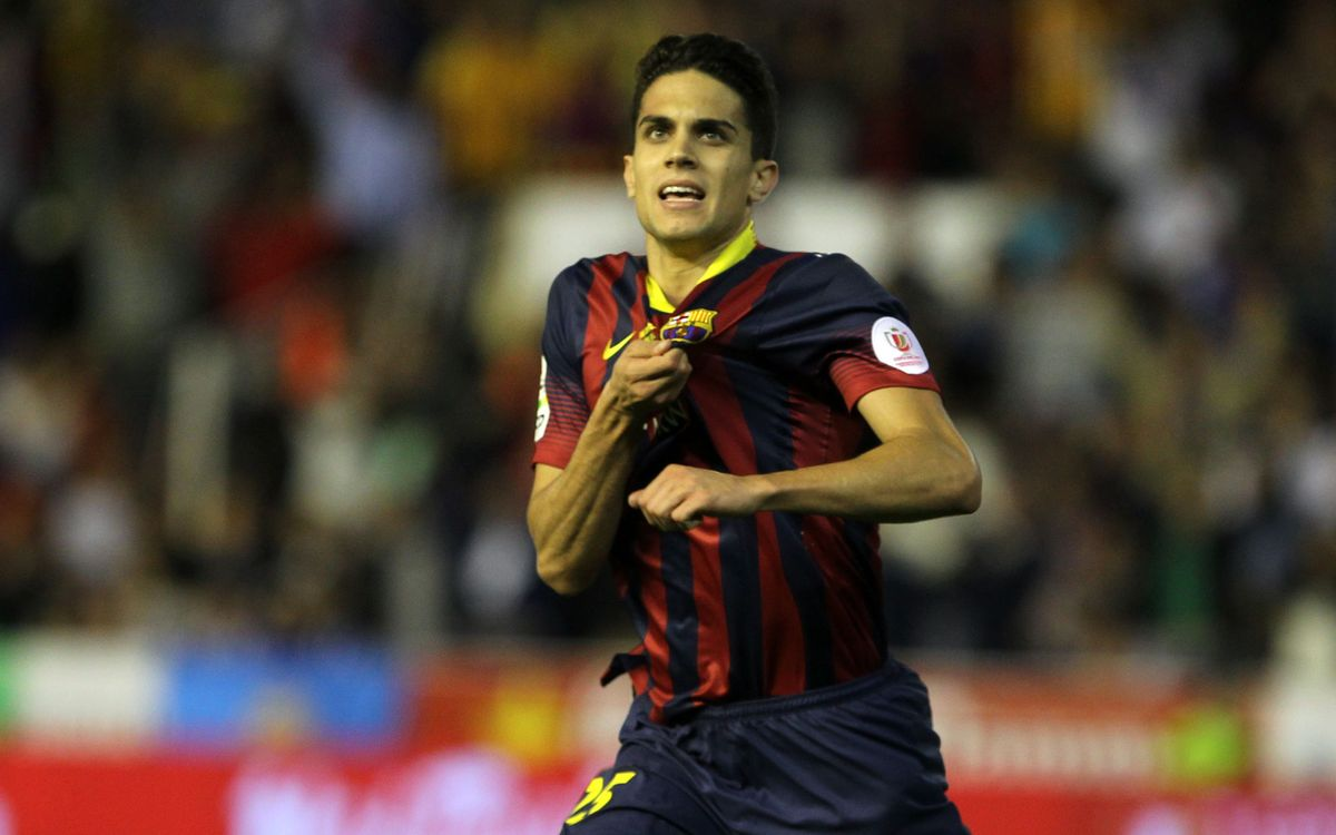 Bittersweet 50th appearance for Marc Bartra