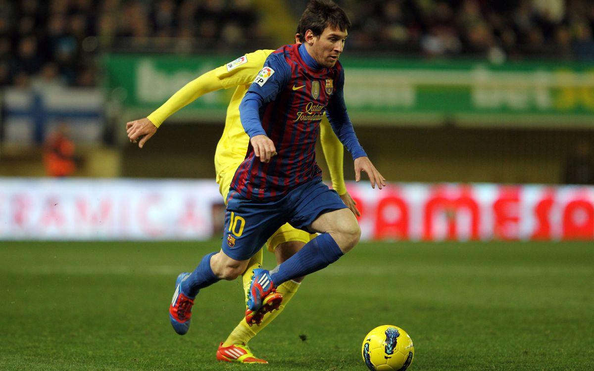 Barcelona's past games at El Madrigal