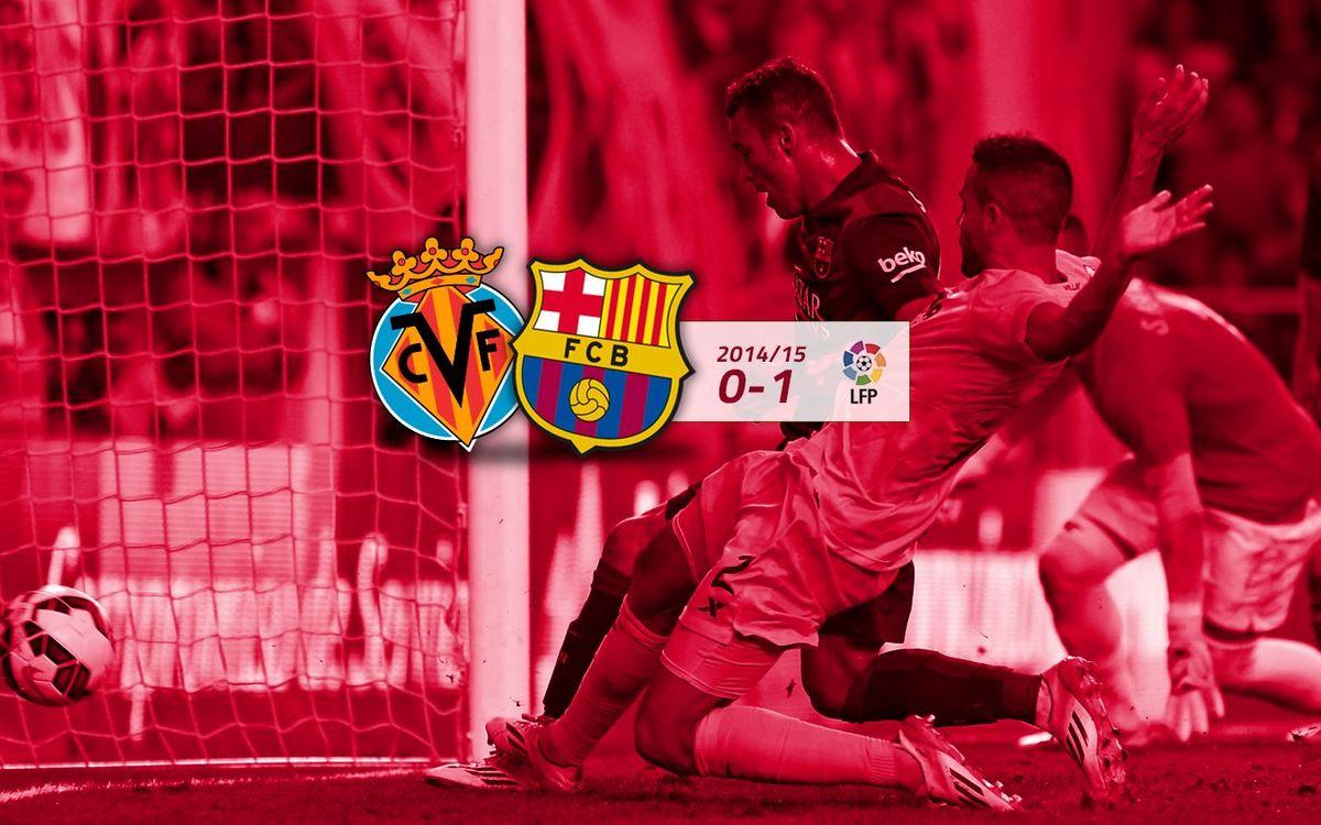 Villarreal: 0 - FC Barcelona: 1