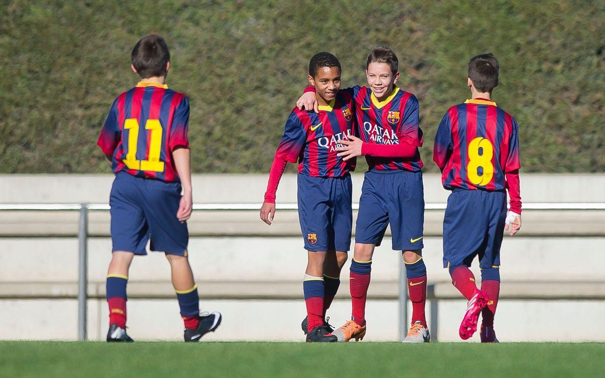 L'Infantil B es proclama campió de Lliga