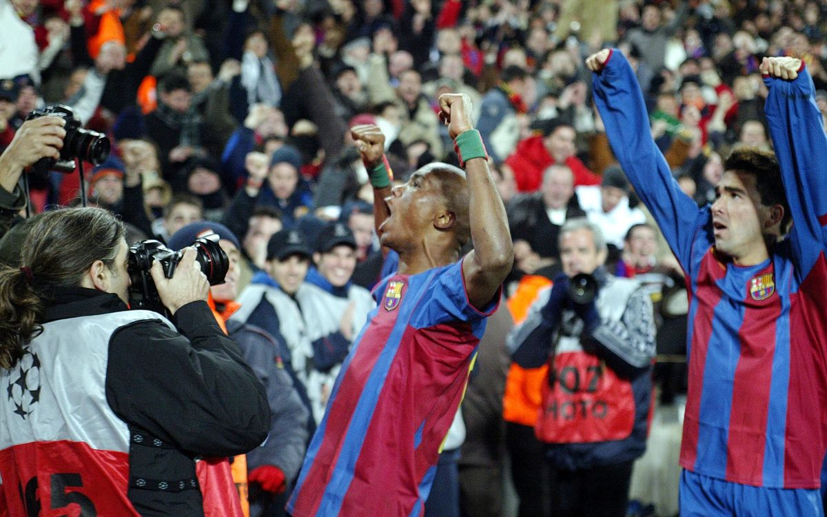 10 years since Deco and Eto'o debuts