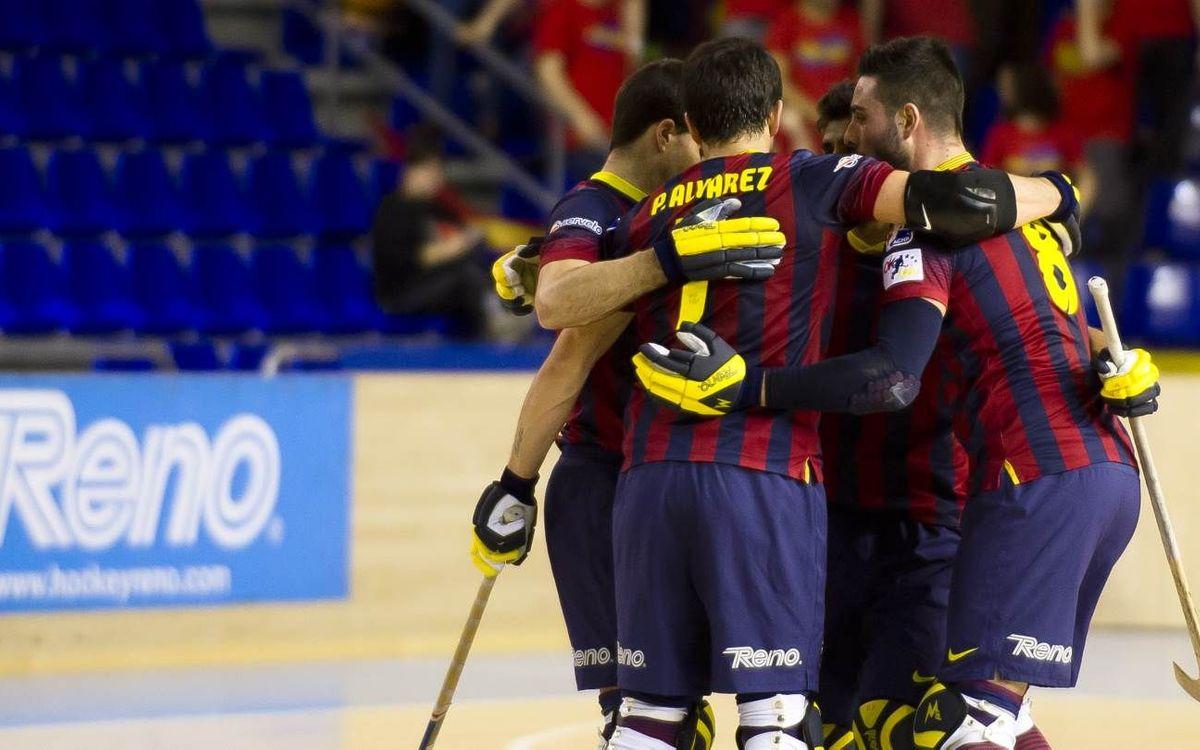 ICG Software Lleida - FC Barcelona: Sin piedad (0-7)
