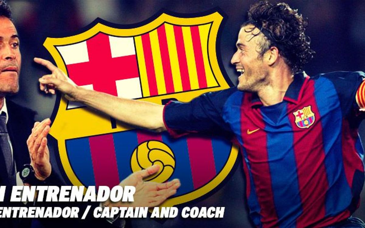 Luis Enrique, eighth captain to rise to manager