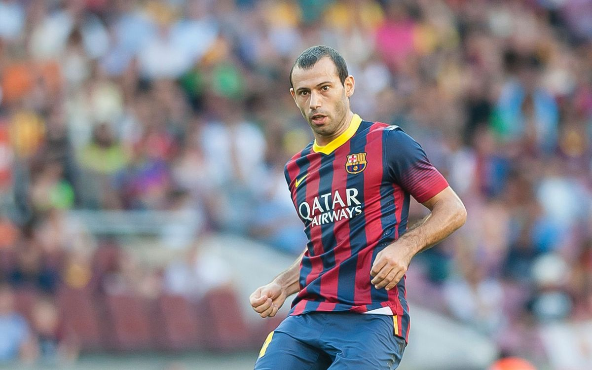 Javier Mascherano staying until 2018