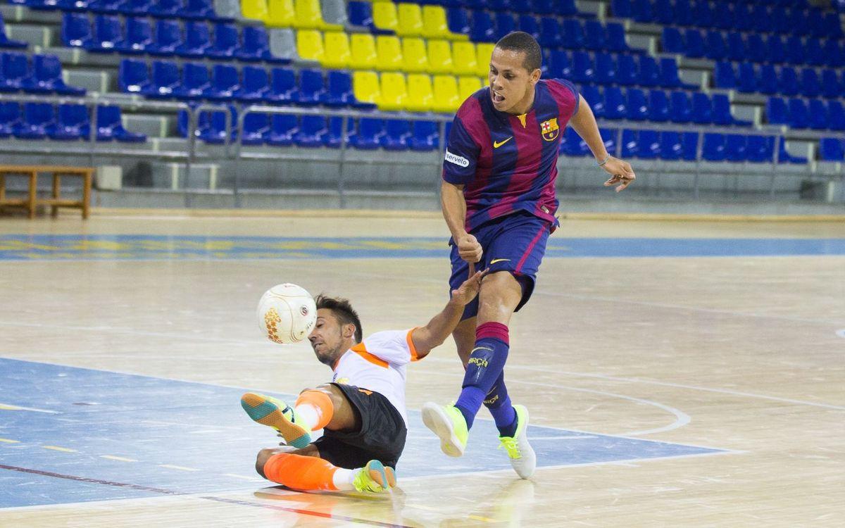 El Barça ha jugado hoy el primer partido amistoso de la pretemporada